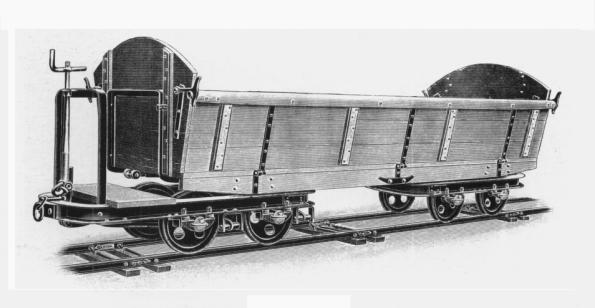 O&K Kastenwagen Metallfahrgestelle 3,5 m³ gebremst