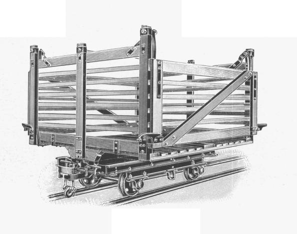 Torfwagen 3 m³